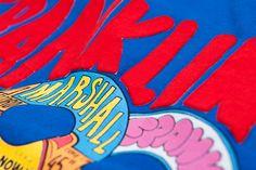 Colorful Franklin & Marshall print