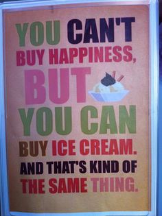 cant buy happiness
