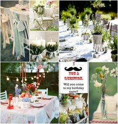 Village Garden Theme Fantastic 18th Birthday Party Ideas