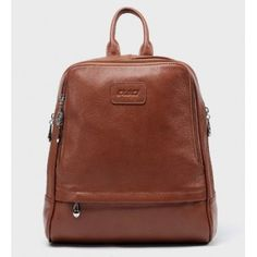 Leather women backpack, leather travel bag - PLSBAG