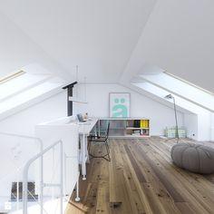 Antresola projektu RODZINNY 2 - zdjęcie od DOMY Z WIZJĄ - nowoczesne projekty domów