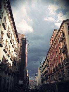 Calle Preciados, Madrid.