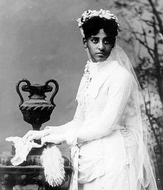 African American Bride, Late 19th Century