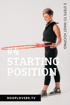 When waist hooping you need to position your in the right spot before spinning it. Check out the article to learn more. Hula Hoop Video, Back Flexibility Stretches, Hula Hoop Workout, Workout Fitness, Fitness Motivation, Knee Exercises, Surfer Magazine, Dance With You, Workout Challenge