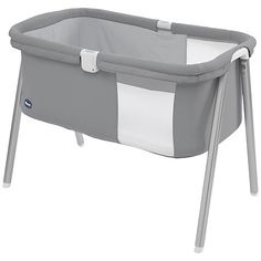 Buy Chicco Lullago Travel Crib, Silver Online at johnlewis.com