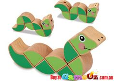 Melissa+and+Doug+Wiggling+Worm+Grasping+Toy  Helps+teach+letter,+number,+colour+and+pattern+recognition+while+encouraging+fine+motor+skills+and+hand-eye+coordination.  Material+:+Wood  Brand:+Melissa+&+Doug  Ages+6+months+