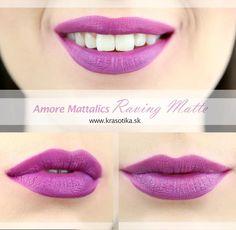 Tekutý metalický rúž Amore Mattallics od americkej značky Milani  💜