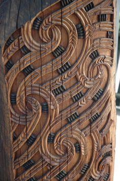 Maori wood carving, New Zealand Maori Designs, Celtic Designs, Polynesian Art, Nz Art, Art Premier, Maori Art, Kiwiana, Wood Sculpture, Abstract Sculpture
