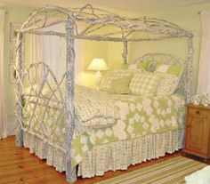 Twig Canopy Bed