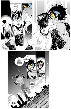"""Malec Comic based on extra """"Kissed: Magnus and Alec's First Kiss"""" part 7 ... Drawn by xiannustudio ... alexander 'alec' lightwood, the mortal instruments, chairman meow"""