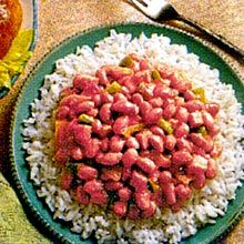 Puerto Rican Rice and Beans (Pink Beans and Rice) | GOYA