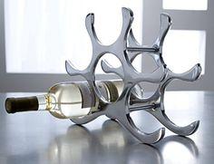 Countertop Wine Rack, 6 Bottle Holder, Polished Aluminum ... https://www.amazon.com/dp/B00K6P82OK/ref=cm_sw_r_pi_dp_7B6Axb3FXMY4C
