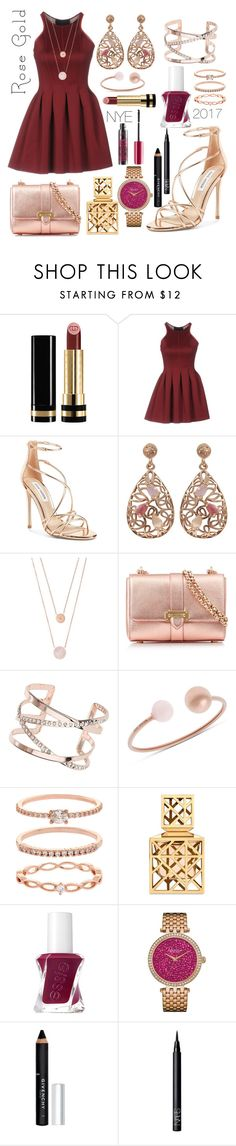 """""""2017..here we come.."""" by dixiepixiefashionista ❤ liked on Polyvore featuring Gucci, Philipp Plein, Steve Madden, Luxiro, Michael Kors, Aspinal of London, Dorothy Perkins, Accessorize, Tory Burch and Essie"""
