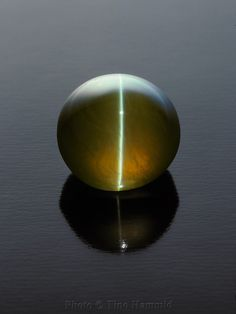 wow wow Cat's EYE spectacular specimen. Mineral is Chrysoberyl.