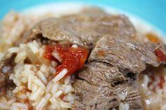 Arroz de bife para 6 pessoas e a somar http://grafe-e-faca.com/pt/receitas/carne/arroz-de-bife-para-6-pessoas-e-somar/