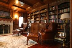 Image result for english country house library