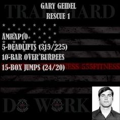 TRAIN HARD DO WORK USE OUR FREE APP TO TRACK YOUR WORKOUTS ________________________________________ Want to be featured? Show us how you train hard and do work Use #555fitness in your post. You can learn more about us and our charity by visiting WWW.555FITNESS.ORG #fire #fitness #firefighter #firefighterfitness #firehouse #buildingastrongerbrotherhood #workout #ems #engine #truckie #firetruck #pastparallel #damstrong #charity #nonprofit @pastparallel @builtbystrength @beaverfitusa @ass...