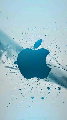 Painting Wallpaper, I Wallpaper, Mobile Wallpaper, Apple Iphone Wallpaper Hd, Cellphone Wallpaper, Apple Decorations, Blue Wallpapers, Paint Splatter, Empire