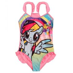 Girls Children My Little Pony Swimsuit Swimming Costume Swimwear age Years Swimsuits, Bikinis, Swimwear, My Little Pony Pictures, Pink Swimsuit, Pencil Bags, Swimming Costume, Tankini, One Piece