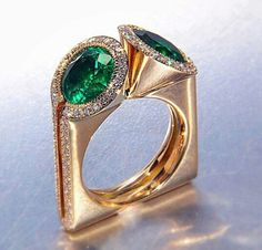 . Emeralds, rubies and diamonds