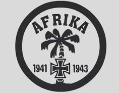 Aufkleber Afrika Korps 2 / mehr Infos auf: www.Guntia-Militaria-Shop.de