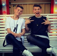 I want to meet these boys! My True Love, Big Love, Mac, Marcus Y Martinus, Love Twins, Bars And Melody, Dream Boyfriend, I Go Crazy, You Are Cute