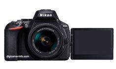 Появилось первое изображение камеры Nikon D5600 названа ее цена