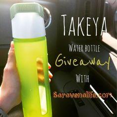 Saravena Tea Takeya Water Bottle Giveaway!