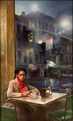 """Edith Jackson"" Max Ginsburg's illustration for the cover of the book by Rosa Guy Black Girl Art, Black Women Art, African American Art, African Art, Black Art Pictures, Black Artwork, Afro Art, Black Artists, Love Art"
