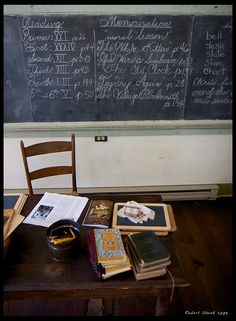 Old School by Rob Shenk, via Flickr