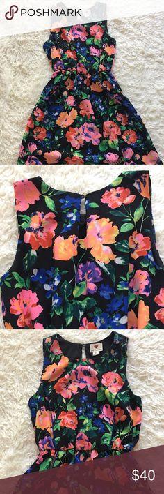 Floral sun dress|| Size XS Floral sun dress|| Size XS|| Like NEW one clothing Dresses Mini