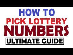 How to win the Lottery Jackpot - Winning the lotto for all Country and S.