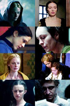 The White Queen Rebecca Ferguson, Anne Of Cleves, Anne Boleyn, The White Queen Starz, Janet Mcteer, Elizabeth Edwards, Anne Neville, Elizabeth Woodville, Philippa Gregory