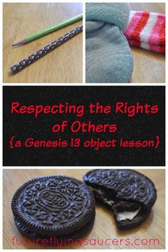 respecting the rights of others object lesson, Abraham and Lot Sunday School Activities, Bible Activities, Sunday School Lessons, Sunday School Crafts, Church Activities, Bible Games, Religion Activities, School Games, Group Activities