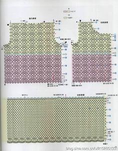 Asahi Original - Handmade Clothes for Baby 2010 - 雪花新闻 Crochet For Kids, Crochet Top, Crochet Stitches Chart, Knitting Patterns, Crochet Patterns, Handmade Clothes, Baby Dress, Diy Design, Crochet Projects