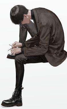 Ken Tokyo Ghoul, Anime W, Boy Illustration, Handsome Anime, Cute Anime Guys, Boy Art, Pretty Art, Anime Style, Aesthetic Anime