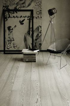 Gray-toned woods like this aptly named Oak Concrete are particular popular right now.