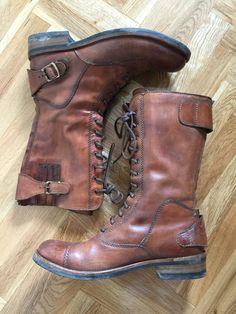 Belstaff streetmaster brown Biker boots