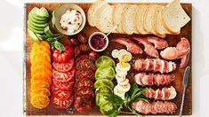 Bacon-Lobster-Tomato Sandwiches