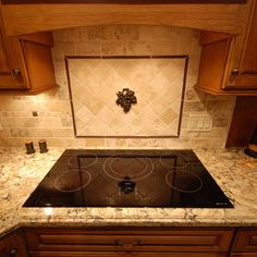 kitchen backsplash with purple accents - Yahoo Image Search Results Kitchen Backsplash, Kitchen Countertops, Diy Kitchen, Kitchen Design, Kitchen Ideas, Kitchen Updates, Kitchen Decor, Metal Countertops, Cambria Countertops