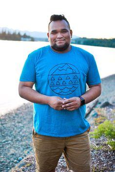 Pacific Northwest Elements T-shirt  Mens  S-XXL by NorthwestNook