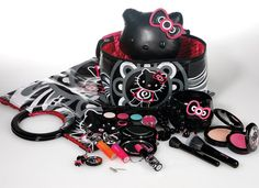 Hello Kitty MAC collection....I'm pretty sure this is way past want. I NEED this.