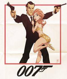 Geek Art: James Bond - Cocked and Loaded  - News - GeekTyrant
