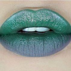 """1,172 Likes, 5 Comments - Necromancy Cosmetica (@necromancycosmetica) on Instagram: """"@noirojos la beibi de las bembas coloridas ✨ wearing •SEGUNDA PLAGA• on her upper lip.…"""""""