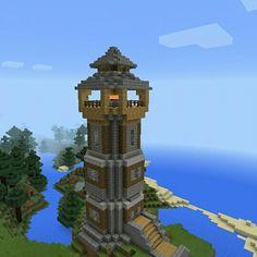 #Torre #Medieval de Luz #Minecraft     #Minecraftpe #Games #Gamer #Builder +❤ ✌