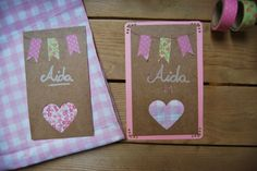Invitaciones para fiesta con un toque Shabby Chic. DIY Shabby Chic Party  invitations