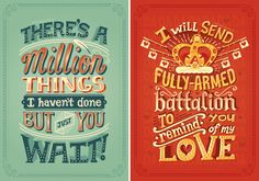 #Letters4Ham: Hand-lettered Lyric Posters I don't... - Risa Rodil