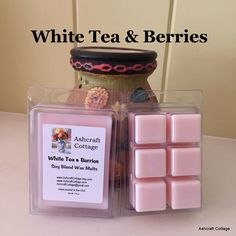#WhiteTea&Berries  #ScentedWaxMelts  #SoyMelts  #Strong  #ScentedWax  #Floral  #Gift Idea #WaxCubes  #Scent Cubes  #Handmade  #MadeinAmerica by 3AshcraftCottage on #Etsy #EtsyHandmade #EtsyGifts #EtsySeller #EtsyStore #EtsySeller #smallbusiness #shopsmallbusiness #supportsmallbusiness #shoplocal