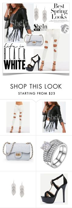 """""""8 SheIn"""" by kiveric-damira ❤ liked on Polyvore featuring H&M"""