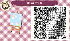 "animal-crossing-new-leaf-forever: ""Rainbow  """